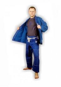 Фото 2 к товару Кимоно для бразильского джиу-джитсу Muri Oto Gaijin 0311 синее
