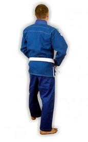 Фото 3 к товару Кимоно для бразильского джиу-джитсу Muri Oto Gaijin 0311 синее