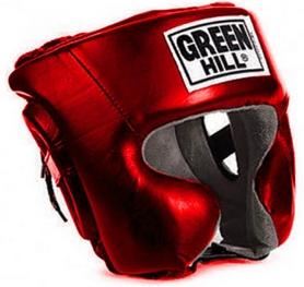 Распродажа*! Шлем боксерский Green Hill Sparring HGS-9409 красный - размер L