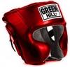 Шлем боксерский Green Hill Sparring HGS-9409 красный - фото 1