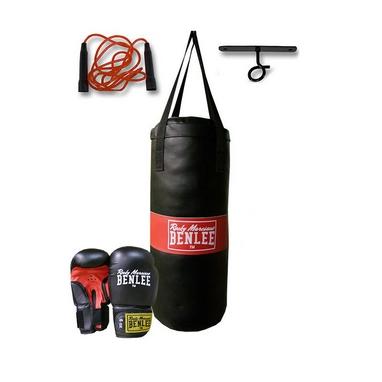 Набор детский для бокса Benlee Punchy черный