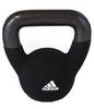 Гиря 4 кг Adidas черная - фото 1