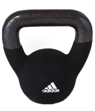 Гиря 4 кг Adidas черная