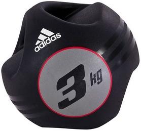 Медбол 3 кг Adidas черный