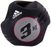 Медбол 3 кг Adidas черный - фото 1