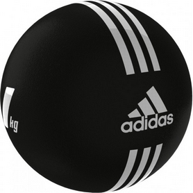Медбол Adidas 21.6 см 1 кг  черный