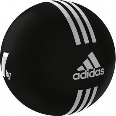 Медбол 21.6 см 1 кг Adidas черный