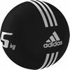 Медбол 24 см 5 кг Adidas черный - фото 1