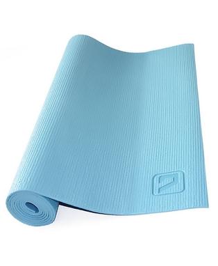 Коврик для йоги Live Up PVC Yoga Mat 4 мм синий