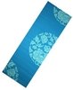 Коврик для йоги Live Up PVC Yoga Mat With Print 6 мм blue - фото 1