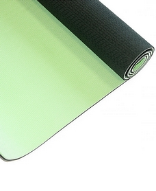 Фото 1 к товару Коврик для йоги Live Up TPE Yoga Mat 4 мм black/green