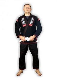 Кимоно для бразильского джиу-джитсу Muri Oto 0331 черное
