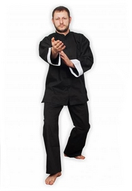 Фото 5 к товару Форма для занятий кунг-фу или ушу (ифу) Muri Oto 1100 черная