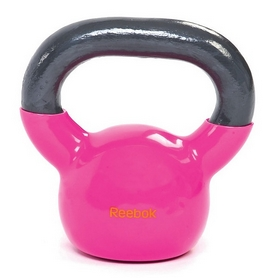 Фото 1 к товару Гиря 2.5 кг Reebok розовая