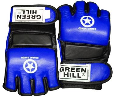 Перчатки для боевого самбо Green Hill MMA-0027 синие