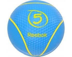 Фото 1 к товару Медбол Reebok RAB-40125CY 5 кг голубой