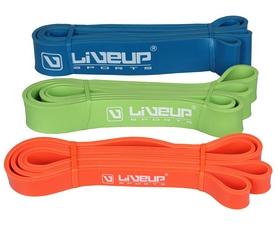 Фото 3 к товару Тренажер - резиновая петля Live Up Latex Loop 2,08 м синий