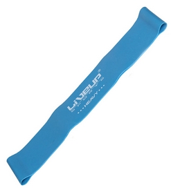 Фото 1 к товару Тренажер - резиновая петля Live Up Latex Loop 50 cм синий