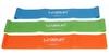 Тренажер - резиновая петля Live Up Latex Loop 50 cм оранжевый - фото 3