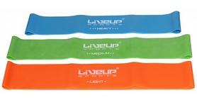 Фото 3 к товару Тренажер - резиновая петля Live Up Latex Loop 50 cм зеленый