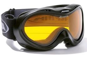 Фото 1 к товару Маска горнолыжная Alpina Free black