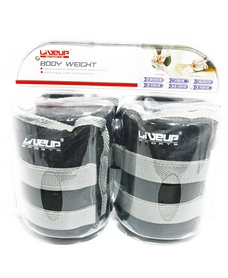 Фото 2 к товару Утяжелители для рук LiveUp Wrist/Ankle Weight 2 шт по 3 кг