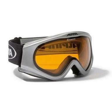 Маска горнолыжная Alpina Ethno silver