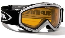 Фото 1 к товару Маска горнолыжная Alpina Firebird silver