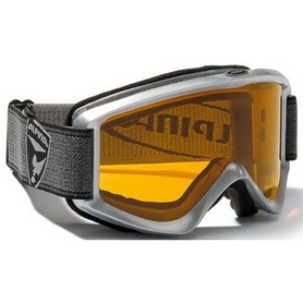 Фото 1 к товару  Маска горнолыжная Alpina Smash 2.0 silver