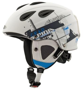 Шлем горнолыжный Alpina Grap white