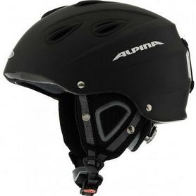 Шлем горнолыжный Alpina Grap black