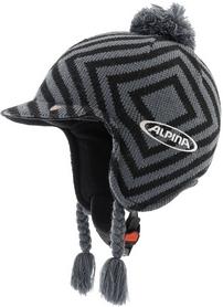 Шлем горнолыжный Alpina Beanie black/grey