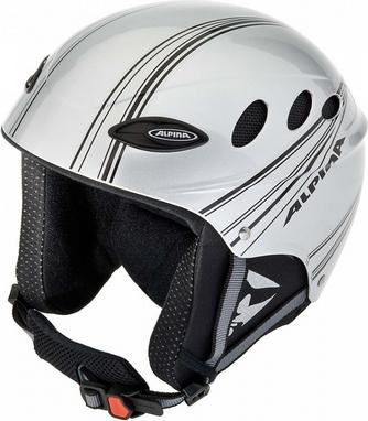 Шлем горнолыжный Alpina Lips Flex silver/black