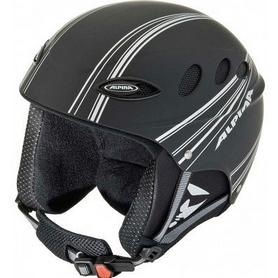 Шлем горнолыжный Alpina Lips Flex black/silver