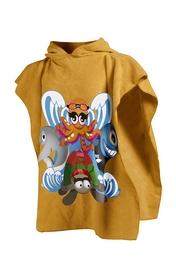Полотенце детское Arena Ziggy Kids желтое