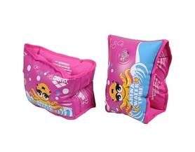 Фото 1 к товару Нарукавники для плавания Awt Soft Armband розовые