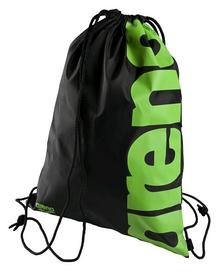 Фото 1 к товару Сумка-мешок Arena Fast Swimbag черно-зеленая
