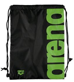 Фото 2 к товару Сумка-мешок Arena Fast Swimbag черно-зеленая