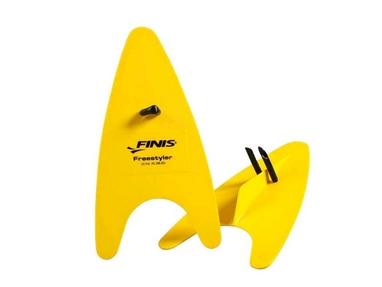 Лопатки для плавания Finis Freestyler желтые