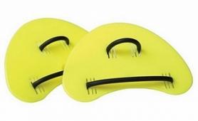 Лопатки для плавания Finis Sculling Finger Paddles Sr. желтые