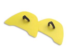 Лопатки для плавания Golfinho желтые
