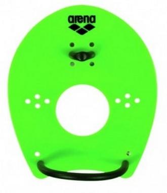 Лопатки для плавания (ласты для рук) Arena Elite Hand Paddle lime