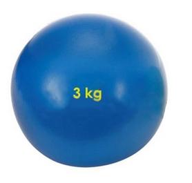 Фото 1 к товару Мяч медицинский (медбол) Pro Supra 3 кг синий