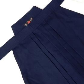 Фото 2 к товару Хакама смесовая синяя