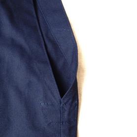 Фото 4 к товару Хакама смесовая синяя