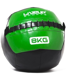 Фото 1 к товару Мяч для кроссфита Live Up Wall Ball 8 кг
