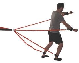 Фото 3 к товару Набор для тренировок Live Up Striker Training System