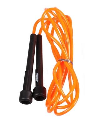 Скакалка Live Up PVC Jump Rope оранжевая