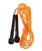 Скакалка Live Up PVC Jump Rope оранжевая - фото 1