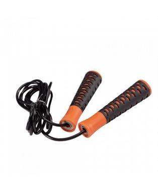 Скакалка скоростная Live Up PVC Speed Jump Rope оранжевая